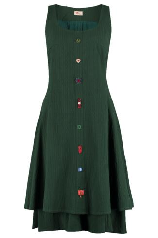 Graceland button dress 5 colors